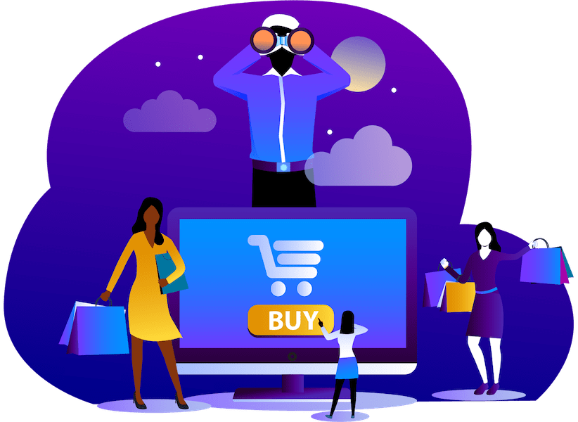 Images Illustrations Online Shopping Concept